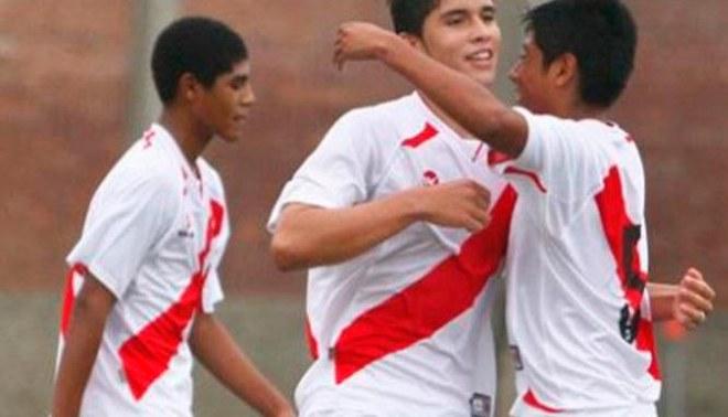 Selección peruana Sub 17 derrotó 3-1 a Costa Rica en cuadrangular internacional