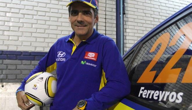 Ramón Ferreyros viajó a España para participar del Campeonato de Rally de Tierra