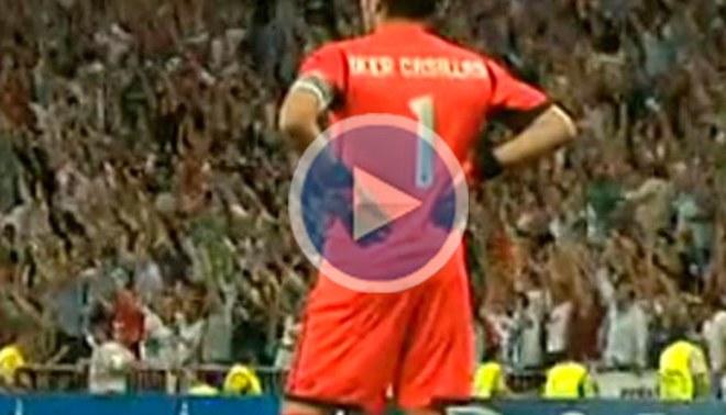 Iker Casillas no celebró el gol que le marcó Cristiano Ronaldo al Manchester City por la Champions [VIDEO]
