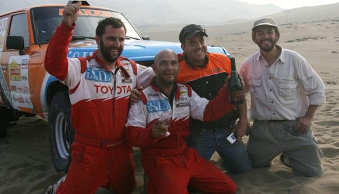 Diego Weber:  El equipo Duro 4x4 dará todo de sí en Caminos del Inca