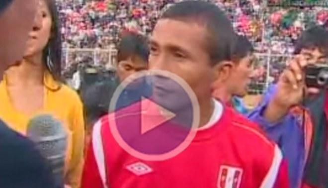 William Chiroque: Ojalá que este golpe no me saque de este partido ante Bolivia [VIDEO]