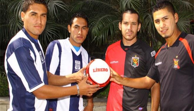 Futbolistas 'calientan' la previa del Alianza Lima-Melgar