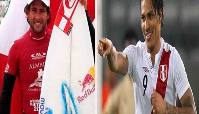 Paolo Guerrero felicitó a seleccionado de surf tras el oro en Bolivarianos