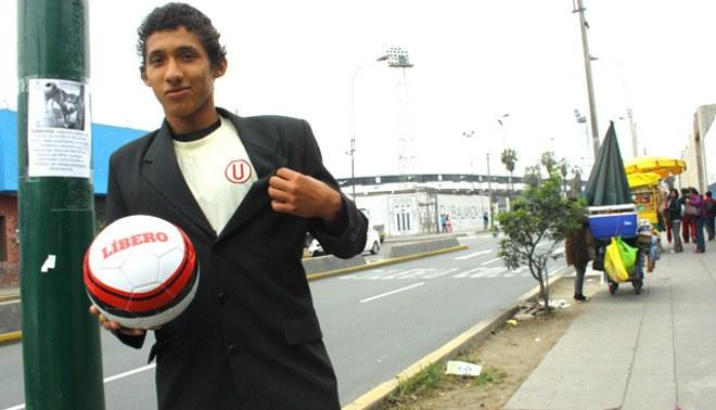 Jugador de Universitario Christopher González vive a dos cuadras del estadio de Alianza Lima