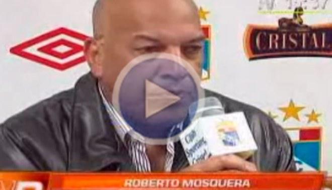 Roberto Mosquera: Me causan tristeza las declaraciones de Nolberto Solano [VIDEO]
