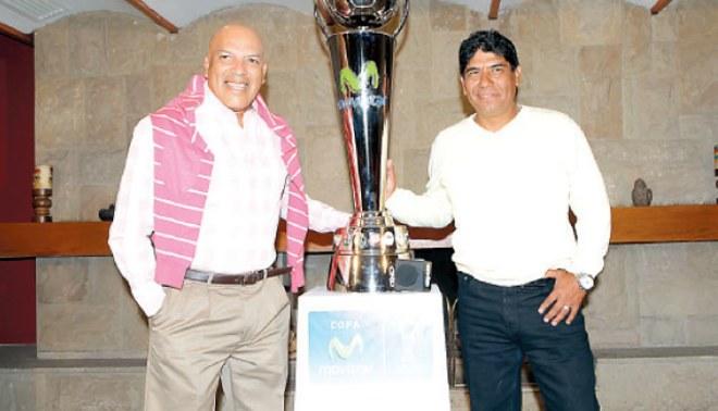 Roberto Mosquera y Freddy García ya calientan su partido aparte