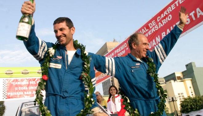 Pilotos Fernando Ferrand padre e hijo, presentarán el auto que usarán en el Dakar 2013