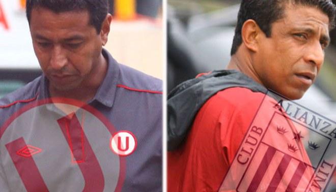 Nolberto Solano y José Soto serán despedidos esta semana de Universitario y Alianza Lima