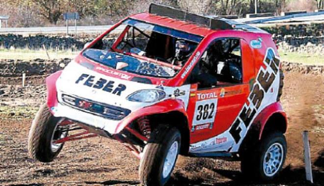 """Un """"Tico"""" en el Dakar"""