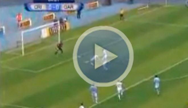 Mira lo que falló Ramón Rodríguez frente al arquero Erick Delgado [VIDEO]