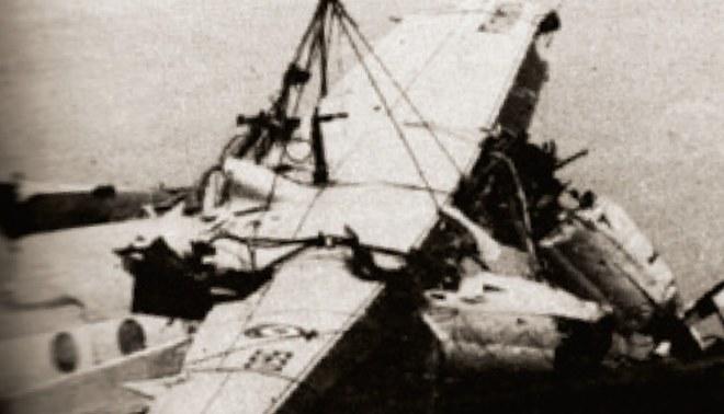 ¿Y dónde está el piloto del Fokker?