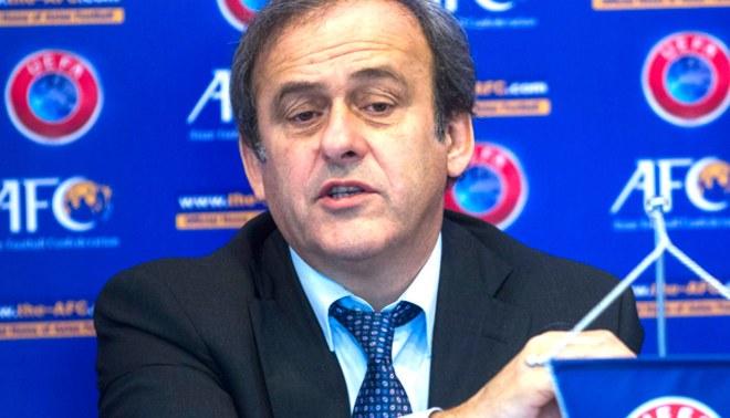 Michel  Platini: No estoy de acuerdo con el uso de la tecnología en el fútbol