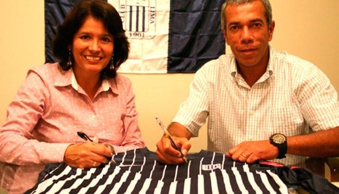 Wilmar Valencia es oficialmente entrenador de Alianza Lima por todo el 2013