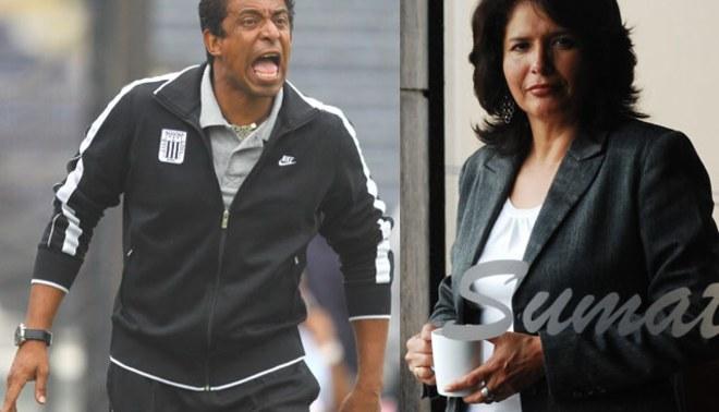 Susana Cuba: En lugar que le corresponde a Jose Soto ahora es en la tribuna