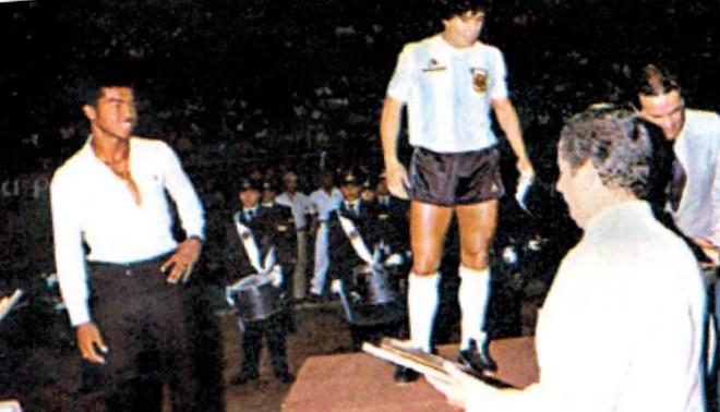 """Uribe, el """"Diamante"""" de Sudamérica"""