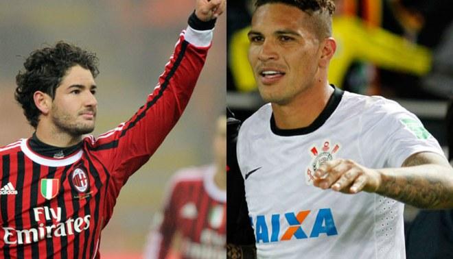 Alexandre Pato será compañero de Paolo Guerrero en Corinthians