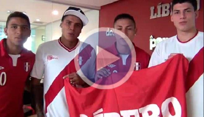 Ivan Bulos, Jean Deza, Ángelo Campos y Edwin Gómez prometieron realizar un buen Sudamericano [VIDEO]
