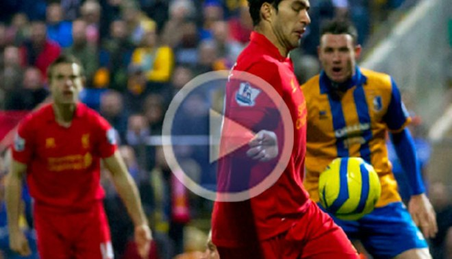 Liverpool avanzó en la FA Cup de la 'mano' de Luis Suárez [VIDEO]