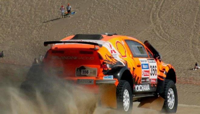 Raúl Orlandini abandonó el Dakar en la etapa Pisco-Nasca