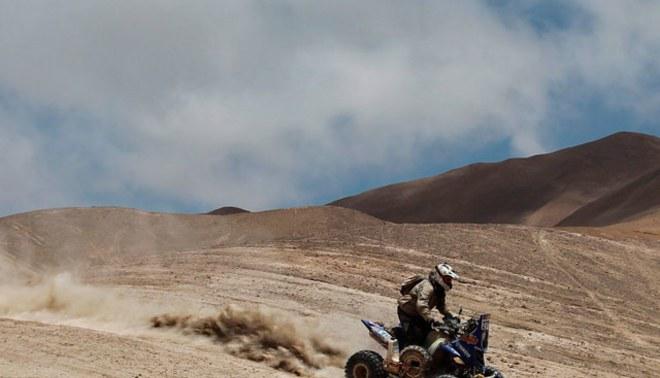 Ignacio Flores culminó en el puesto 7 en la sétima etapa del Dakar 2013