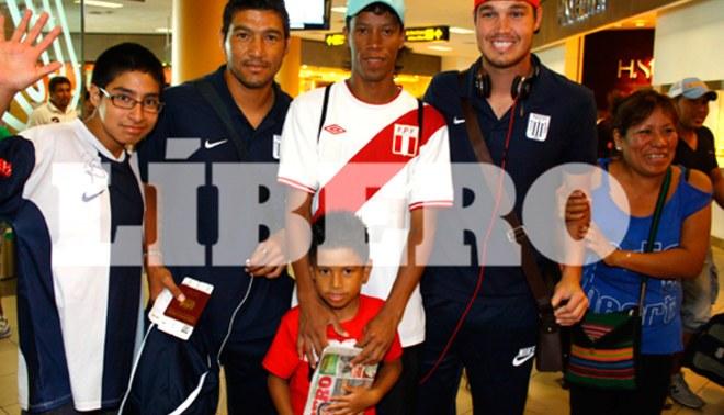 Jugadores de Alianza Lima viajaron a España para continuar su pretemporada [FOTOS]