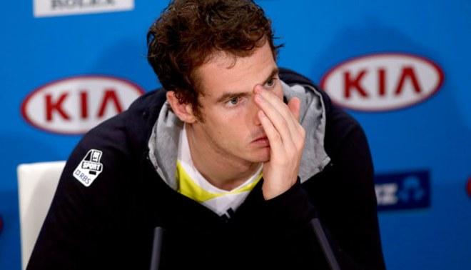 Andy Murray: ¡Me decepciona haber creado pocas ocasiones de riesgo!