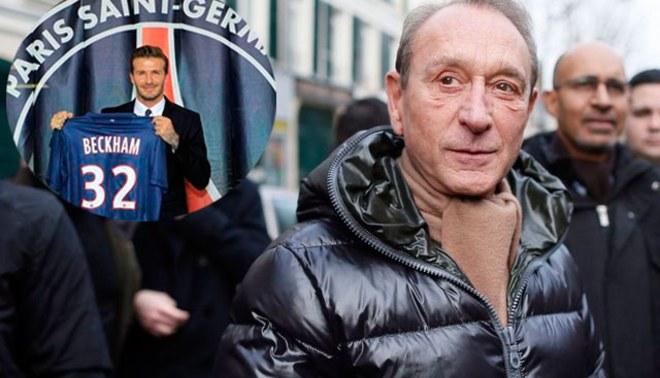 "David Beckham ""encanta"" al alcalde de París al fichar por PSG"