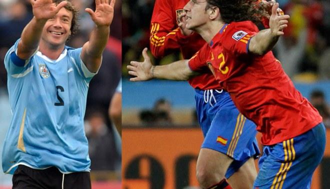 Diego Lugano: Carles Puyol es un referente por todo lo que ha ganado