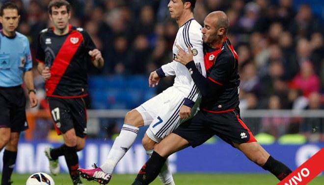 Real Madrid-Rayo Vallecano: 2-0 [EN VIVO]