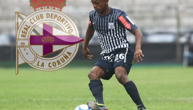 Yordy Reyna, cotizado en U$5 millones emigraría a Deportivo La Coruña
