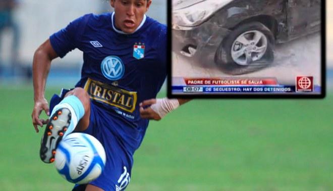 Padre de jugador de Sporting Cristal se salvó de ser secuestrado [VIDEO]