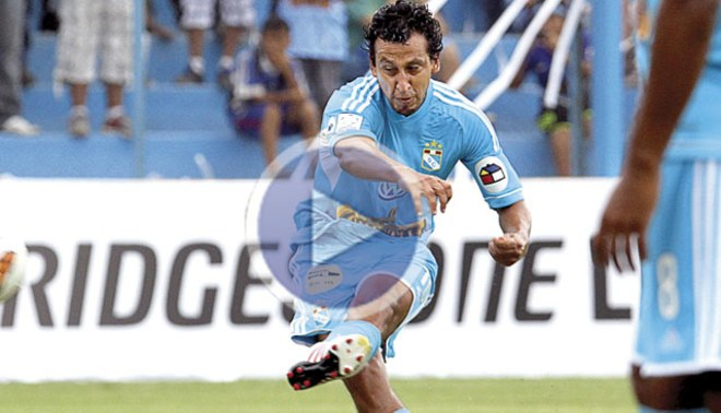 Copa Libertadores 2013: Renzo Sheput marcó un soberbio tiro libre [VIDEO]