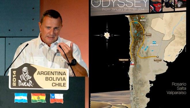 Perú no será parte del Dakar 2014, el recorrido será por Argentina, Bolivia y Chile