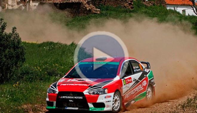 Nicolás Fuchs tuvo un buen inicio en el Rally de Portugal [VIDEO]