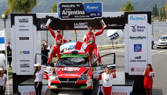 Nicolás Fuchs ganó el Rally de Argentina