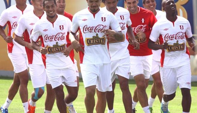 Selección peruana entrenó en la Videna pensando en Panamá y duelos de Eliminatorias [FOTOS]