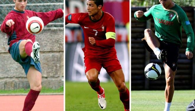 Cristiano Ronaldo cumplió hoy 10 años de su debut profesional en la selección portuguesa [VIDEO]