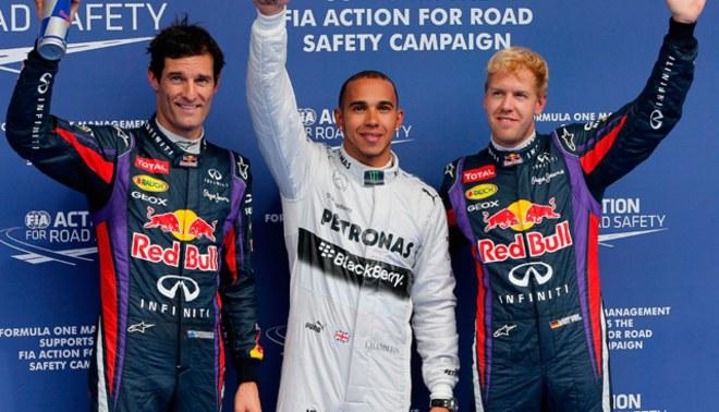 Lewis Hamilton suma su cuarta 'pole' consecutiva en el GP de Bélgica [FOTOS]