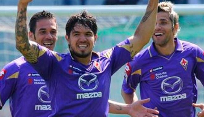 La Fiorentina con Juan Manuel Vargas igualó 0-0 con Lazio por la Liga italiana