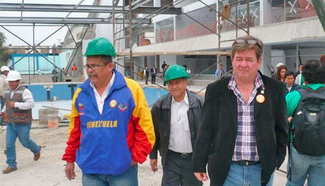 Juegos Bolivarianos: Comité organizador aguarda que obras culminen a tiempo [FOTOS]