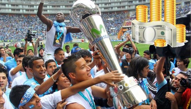 Sporting Cristal se 'bañará' en dólares: 500 mil si logra el bicampeonato