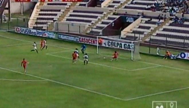 Mira el increíble gol que falló Ramón Rodríguez ante León de Huánuco [VIDEO]