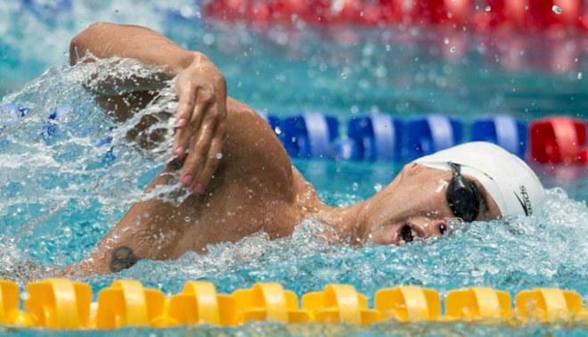 Juegos Bolivarianos: Mauricio Fiol ganó medalla de oro en 200 metros mariposa