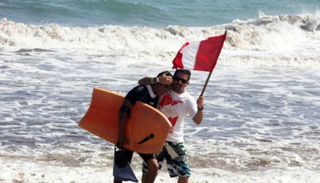 Juegos Bolivarianos: Nadadores salvaron de morir en aguas abiertas