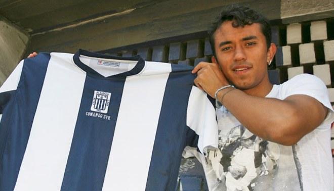 Joazhiño Arroé firma hoy su vínculo contractual con Alianza Lima