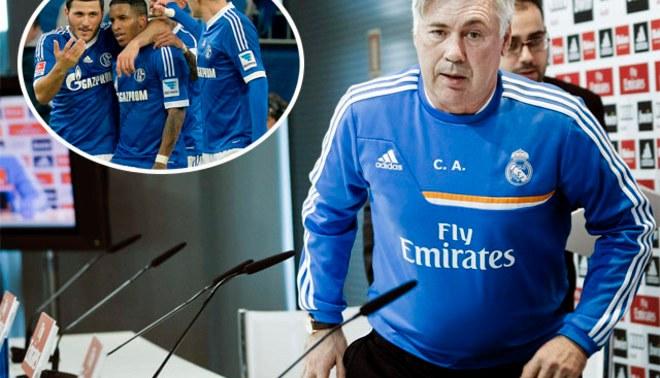 "Carlo Ancelotti: ""Schalke 04 tiene experiencia en Champions League"""