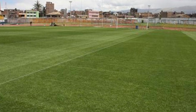 Universitario vs. Garcilaso: Campo del estadio de Huancayo luce en perfectas condiciones