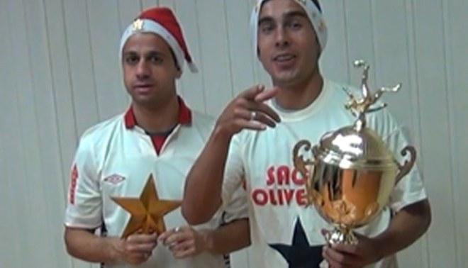 Universitario de Deportes: Guastavino y Fernández celebran navidad con LÍBERO [VIDEO]