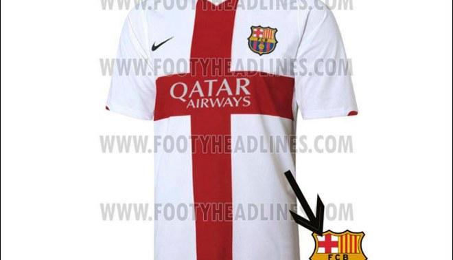 Barcelona utilizaría esta nueva camiseta alterna la temporada 2014 – 2015 3f8d0b9fe30ba