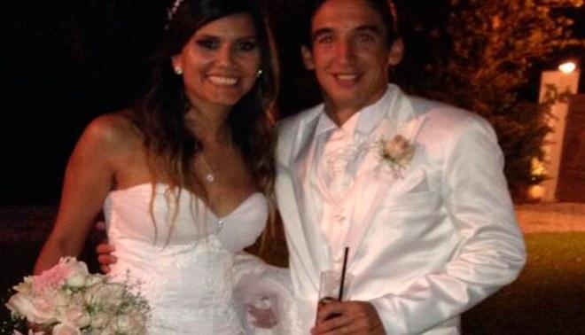 Germán Alemanno se casó en Argentina con bella modelo peruana [TWEET]
